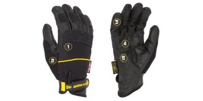 Dirty Rigger - Leather Grip Safety Glove (Full Handed)