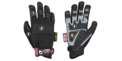 Dirty Rigger - Model XS - Womens Safety Rigger Glove (Full Handed)