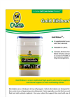 Gold Ribbon - Non-Medicated High Quality Electrolyte Supplement Brochure