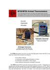 GLA M700 and M750 Livestock Thermometer Secifications