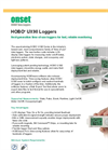 HOBO - Model UX90-001M - State Data Logger - Datasheet