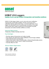 HOBO - Model U14 - Data Loggers - Brochure