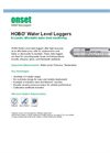 U20-001-01 HOBO Water Level Data Logger, 30 ft, Fresh Water - Datasheet