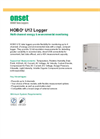 HOBO U12 Logger Multi-Channel Energy & Environmental Monitoring - Datasheet