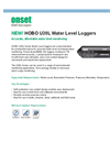 HOBO U20L Water Level Data Loggers - Datasheet