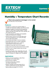 Humidity + Temperature Chart Recorder - Datasheet