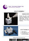 Model PWC II - Clean Room Utility Fogger - Datasheet