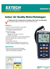 Extech - Model EA80 - Indoor Air Quality Meter Data Logger - Datasheet