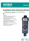 Extech - Model 461825 - Combination Photo Tachometer/Stroboscope - Datasheet