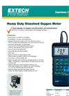 407510 - Dissolved Oxygen Meter with PC interface - Datasheet