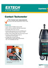 Extech - Model 461891 - High Precision Hand Held Contact Tachometer - Datasheet