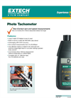 Extech - Model 461893 - PhotoTachometer - Datasheet