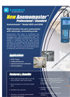 Kanomax - Anemomaster - Specification Sheet