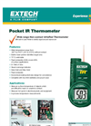 Extech - Model IR201 - Pocket Infrared Thermometer - Datasheet