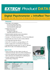 Extech - Model RH401 - Psychrometer Plus Infrared Thermometer - Datasheet