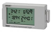 Model UX120-014M - HOBO 4-Channel Thermocouple Data Logger