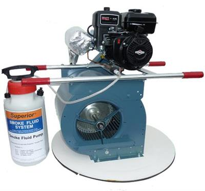 Superior - Model 15-L - High-Output Liquid Smoke Manhole Blower
