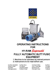 Hy-Ram - - Fully-Automatic Butt Fusion Machines Brochure
