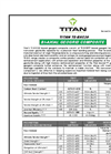 Titan - High-Density Polyethylene Geomembrane (HDPE) Brochure