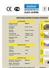 BentoShield - Model GCL Range - Geosynthetic Clay Liner Brochure