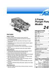 Cat - Model 230 3FR - Ceramic Plunger Pump Brochure