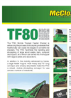 McCloskey - TF 80 - Tracked Feeder for Stacking Conveyor Brochure