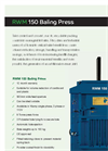 Model RWM 150 - Medium Range Waste Baler- Brochure