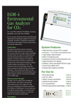 Model EGM-4 - Environmental Gas Monitor Datasheet