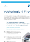 Waterlogic 4 Firewall - WL4FW - Premium Water Dispenser - Brochure