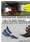 Excavator Ripper Shanks - Brochure