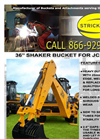 36 Inch Shaker for JCB 3CX - Brochure
