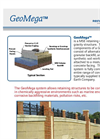 GeoMega - MSE Precast Panel Retaining Wall - Flyer