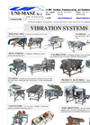 Vibration Sifters - One, Two - Decks Brochure
