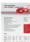 Model Pro Series - Low Profile Dump Trailers - Datasheet