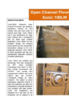 Xonic - Model 100 LM - Open Channel Flowmeter Datasheet