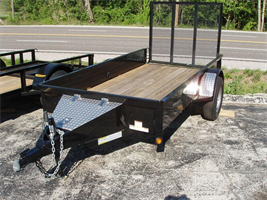Rice Trailers - Model 76 x 12 - Utility Trailer