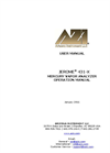 Jerome 431-X Mercury Vapor Analyzer Operation Manual