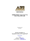 Computrac Vapor Pro XL Moisture Analyzer - User Manual