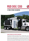 Hydro Excavator Mud Dog 1200