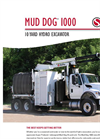 Hydro Excavation Mud Dog 1000