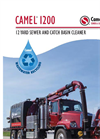 Camel - Model 1200 - Wastewater Recycling Sewer Truck - Brochure