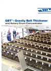 Model GBT - Gravity Belt Thickener Brochure