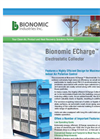 Bionomic ECharge - Electrostatic Collector Datasheet