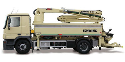 S 20 - Truck-Mounted Concrete Pumps - Schwing Truck-Mounted Concrete