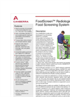 FoodScreen - Radiological Food Screening System Brochure