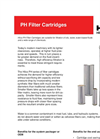 PH Pleated Synthetic Cartridges Brochure