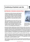 Hydraulic and Lube Oil Conditioning Brochure