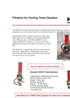 Filtration for Cooling Tower Gearbox - Brochure