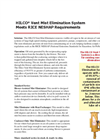 HILCO - Vent Mist Elimination System Brochure