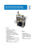 Tabletop SBT-1 Bench Top Plate & Frame Filter - Brochure